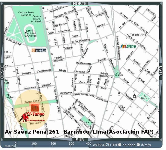 Av. Saenz Peña 261, Barranco (asociación FAP)